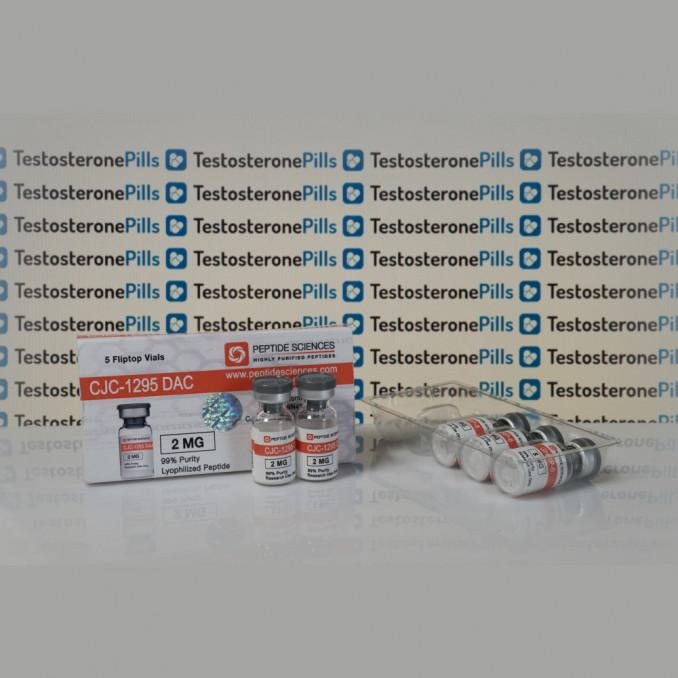 CJC 1295 DAC 2 mg Peptide Sciences | TPT0178 buy