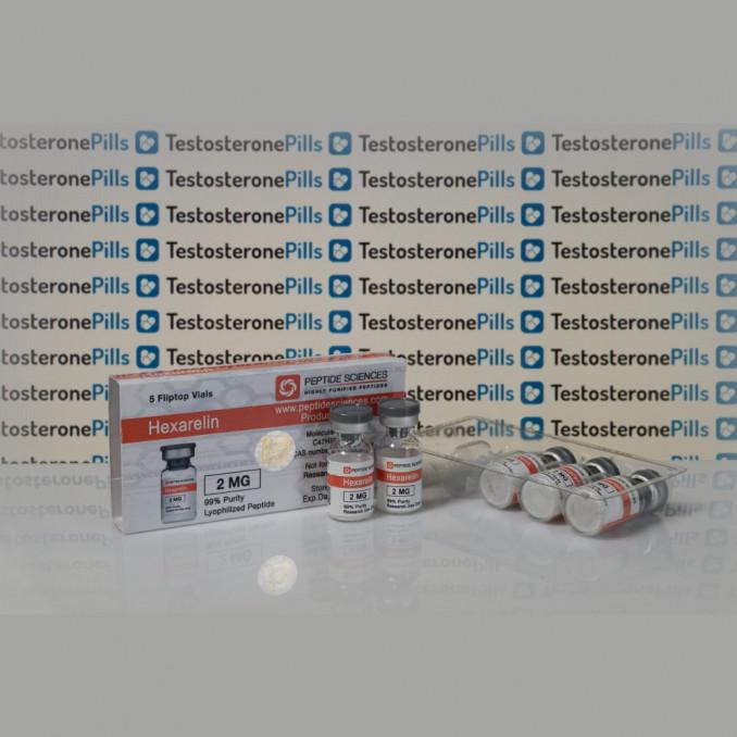 Hexarelin 2 mg Peptide Sciences | TPT-0185