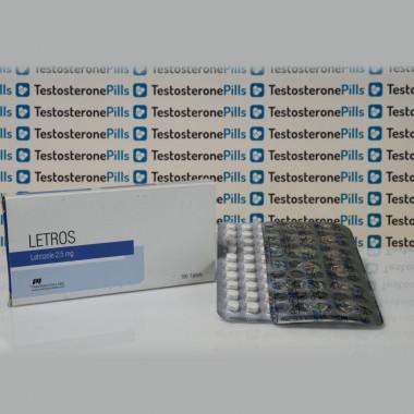 Letros 2,5 mg Pharmacom Labs