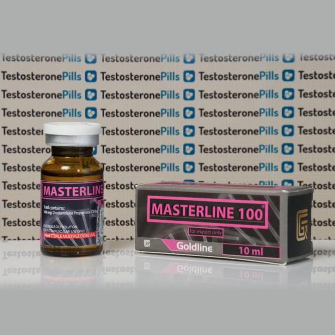 Masterline 100 mg Gold Line | TPT-0216