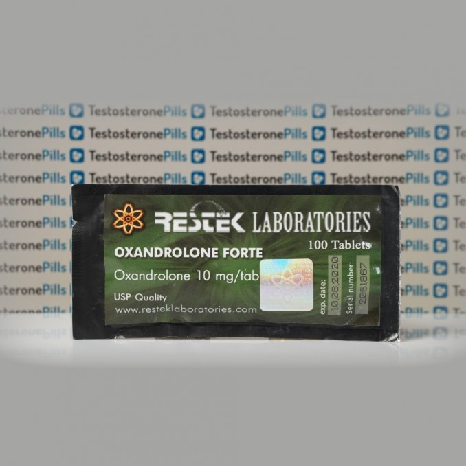 Oxandrolone Forte 10 mg Restek Laboratories | TPT-0199