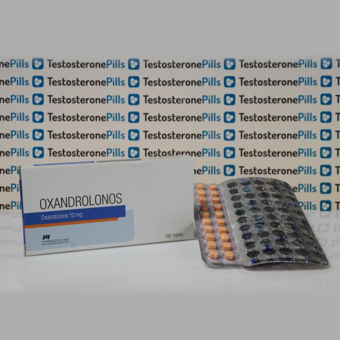 Oxandrolonos 10 mg Pharmacom Labs | TPT-0139
