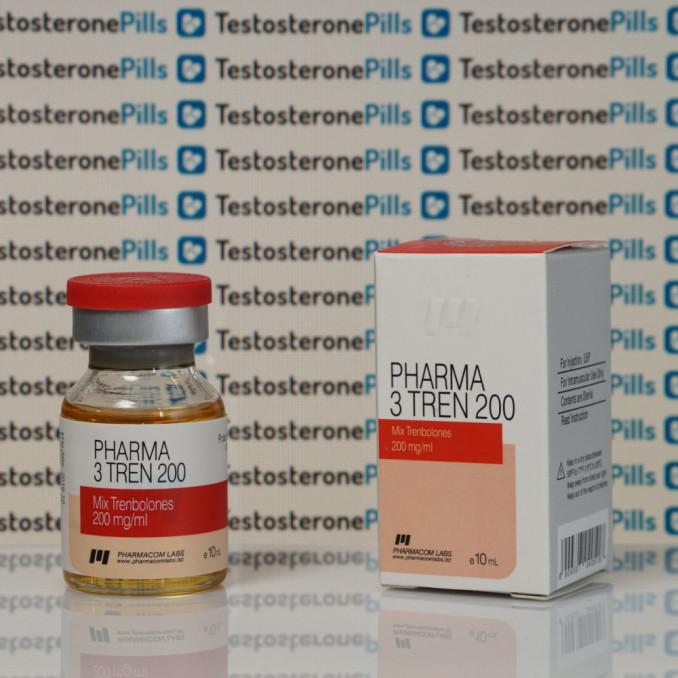 Pharma 3 Tren 200 mg Pharmacom Labs   TPT-0035