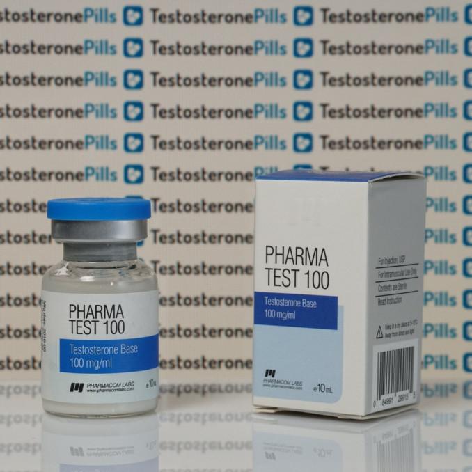 Pharma Test100 (Aquatest) 100 mg Pharmacom Labs | TPT-0085