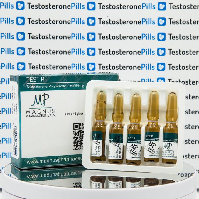 Test P ( Testosterone Propionate) 100 mg Magnus Pharmaceuticals | TPT-0262 buy