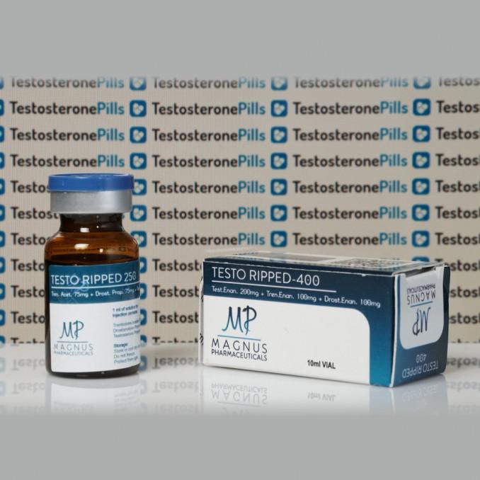 Testo Ripped 400 mg Magnus Pharmaceuticals | TPT-0265